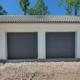 Grå Robust garageportar